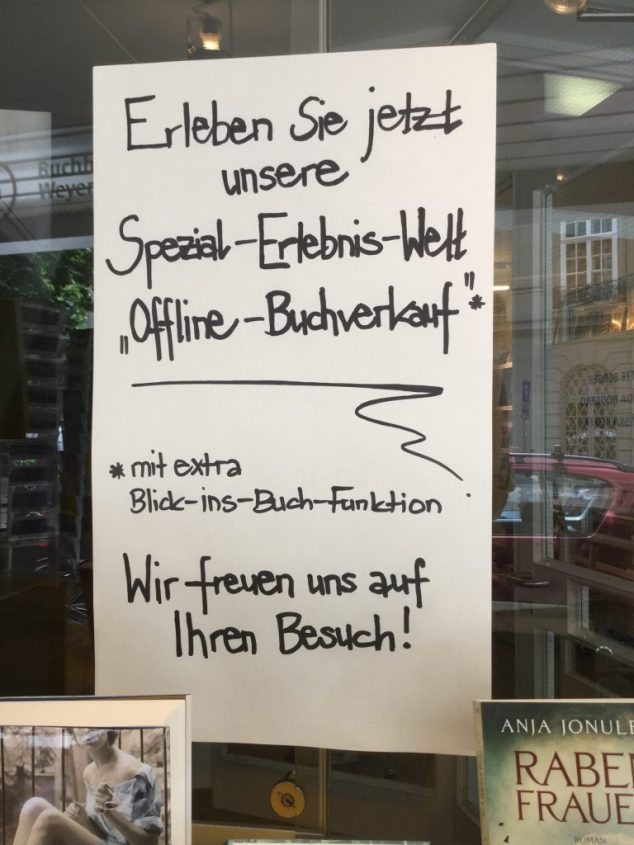 Schaufenster Bern Juni 2016
