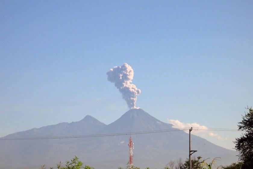 Vulcan Colima Mexiko
