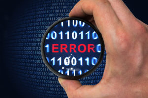 Code errors can lead to vulnerabilities in an application
