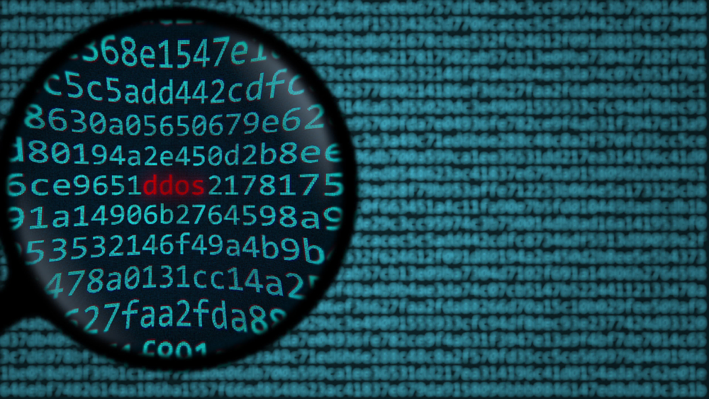 Finding DDoS attack.