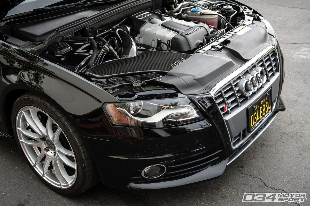 hight resolution of stage 2 b8 audi s4 with carbon fiber cold air intake