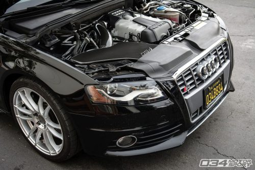 small resolution of stage 2 b8 audi s4 with carbon fiber cold air intake