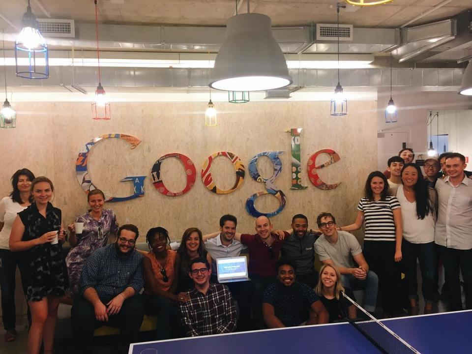 Leading an education innovation brainstorm with Googlers today to expandhellip