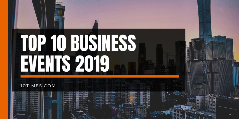 10times list of top 10 business events 2019
