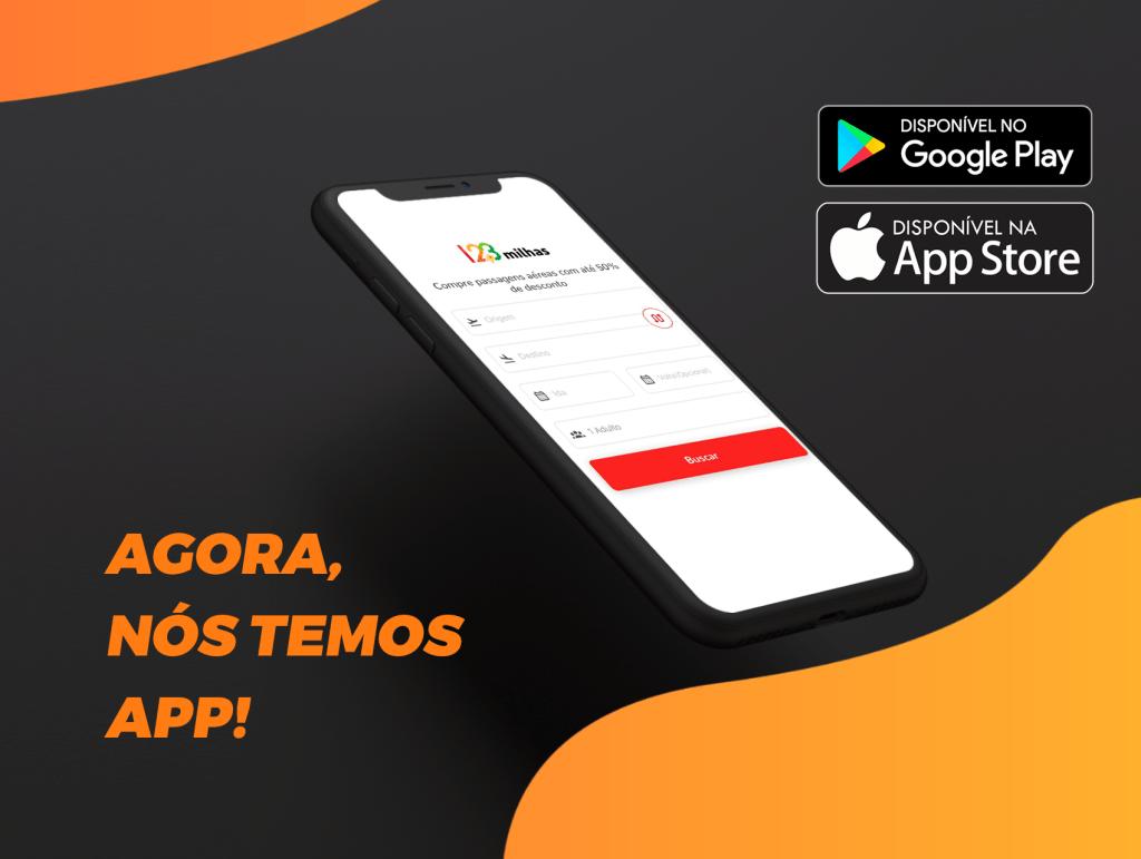 123Milhas lança aplicativo
