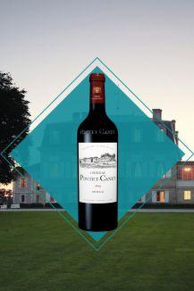 meilleurs vins pour les fêtes Bouteille Vin Chateau Pontet Canet