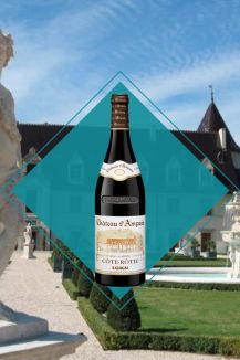 meilleurs vins pour les fêtes Chateau D'Ampuis