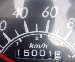 15000km達成!