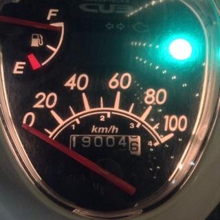 19000km突破!  #カブ110 #Cub110