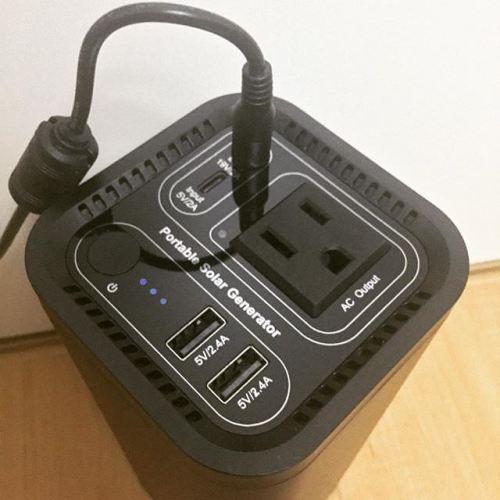 ACコンセントも使えるモバイルバッテリー買った!これで外ロケでも長時間無停止録音できるな(笑) #モバイルバッテリー #AC #コンセント #iFORWAY #知らないメーカー  #PS100N #頼りにしてる