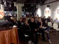 Rund 60 Mitglieder waren zur ersten Mitgliederversammlung in der Museumsfläche erschienen