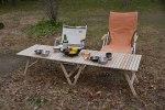 キャンプ用ウッドテーブルを作りました!!