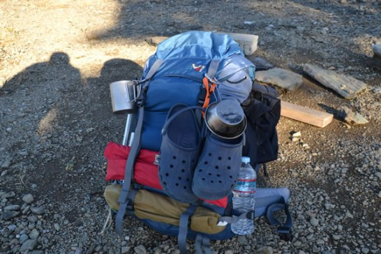ザック バックパック 登山 荷物