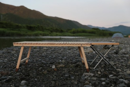 ウッドテーブル 木製テーブル キャンプ