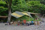 【高知のキャンプ場】高知市内から30分「鏡川源流憩いの広場」が近くて使いやすかった ^^