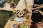 キャンプ用ウッドテーブル「KUROSON370」再入荷のお知らせ ^^
