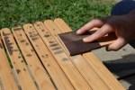 木製(ウッド)キャンプテーブルのお手入れ方法