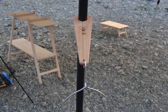 ランタンハンガー フック テント タープ ポール DIY 自作 イレクターパイプ