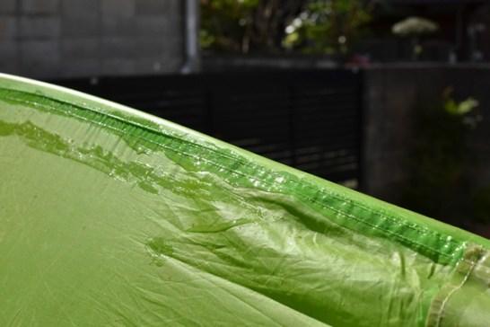 テント シームグリップ 塗り方