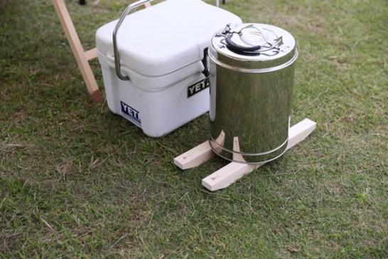 木製 クーラースタント キャンプ DIY