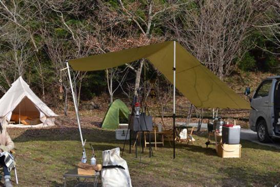 高知 キャンプ 196 クリスマス