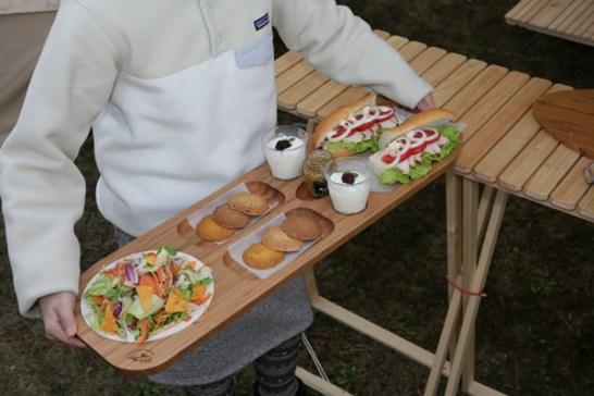 196 キャンプ ひのき 竹 バンブー 純国産 ビュッフェプレート オードブルプレート プレート 皿 まな板 カッティングボード バンブー 料理 飾り
