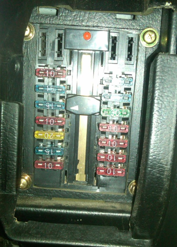 1988 Chrysler Conquest Fuse Box Diagram