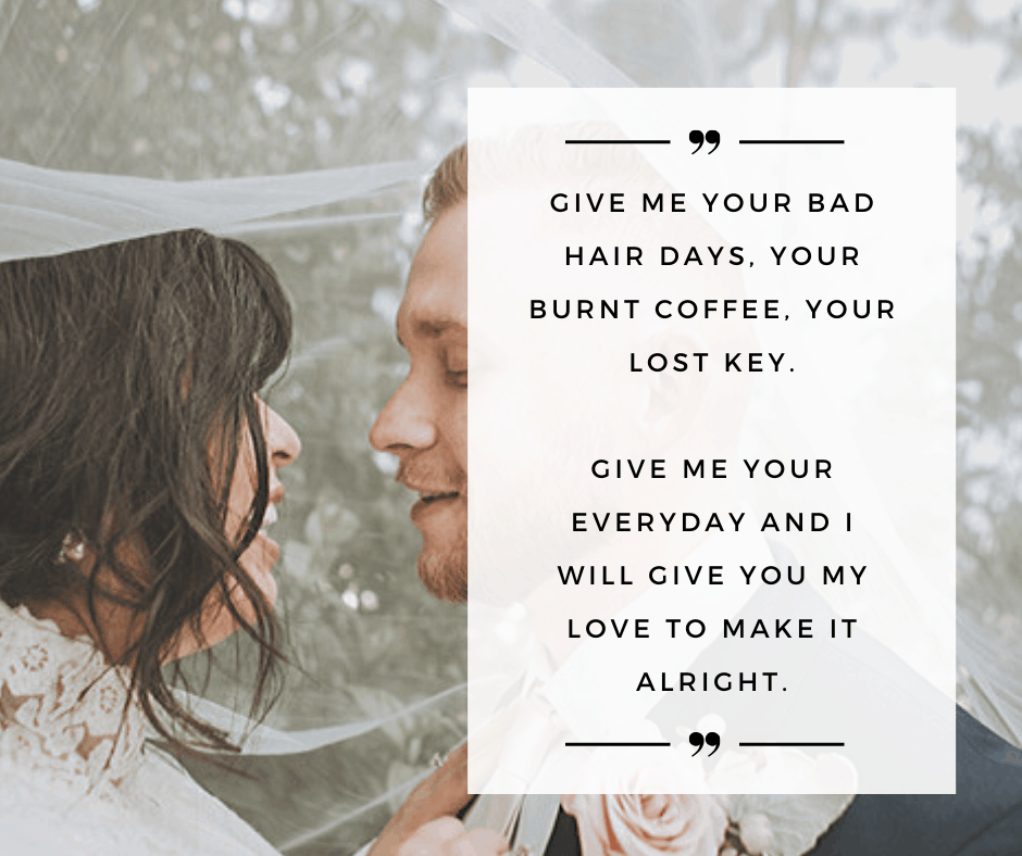35 Non Traditional Wedding Vows And Writing Tips For Him Her