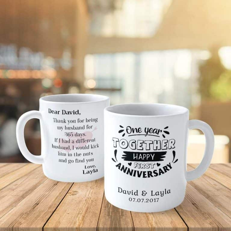 35 Sweetest First Anniversary Gift Ideas For Him Her Couples