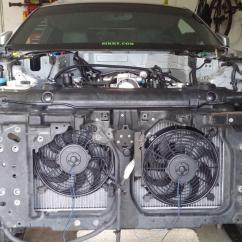 Nissan 350z Fan Wiring Diagram 4 Pin Trailer Connector Plugging Radiator Into Harness 46