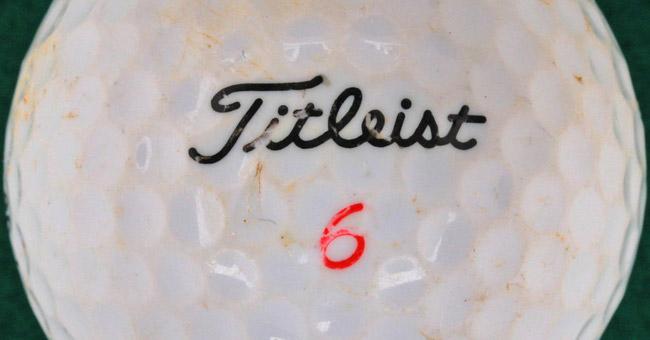 Types of Titleist golf balls