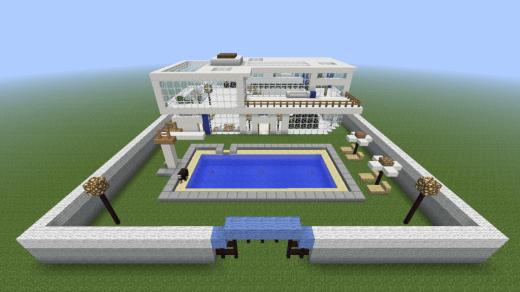 [Minecraft]Day1 - 建造第一個家@3Bro World~ 5
