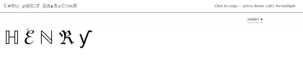 [網絡服務]Copy Paste Character - 符號標誌應有盡有