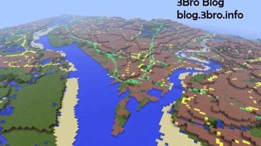 [時事]按照真實比例繪製的Minecraft版英國地圖 1