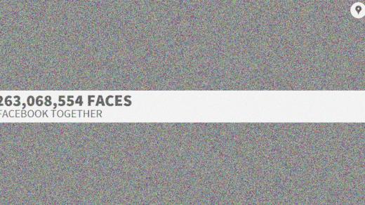 [時事]看看12億張Facebook大頭照的拼圖效果 2