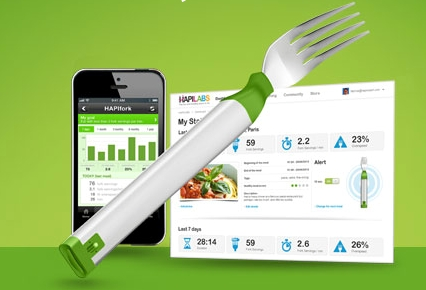 Hapifork-app tenedor inteligente