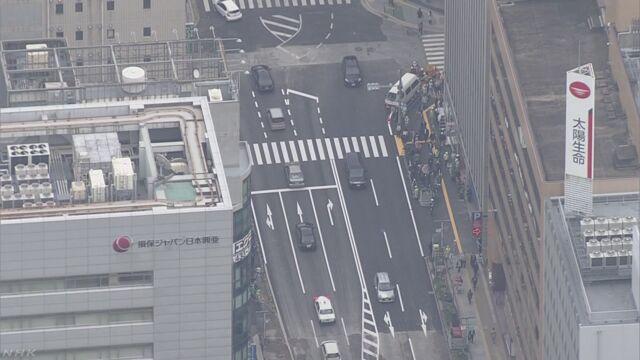 大規模陥没 1週間ぶり通行再開 福岡市が賠償金仮払いへ | NHKニュース