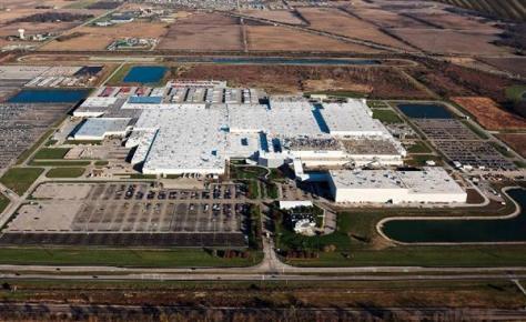 富士重工業の米国インディアナ州の生産拠点「SIA」