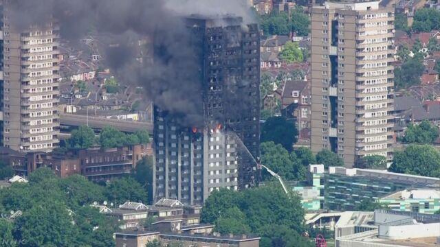 ロンドン高層住宅火災 6人死亡 犠牲者増えるおそれ 地元警察   NHKニュース
