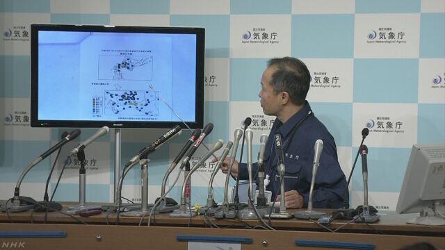 北海道の震度5弱 気象庁「今後の地震に注意を」