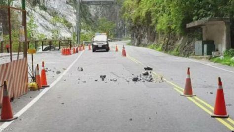 台湾 落石で意識不明の日本人男性が死亡