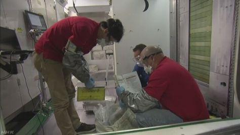 金井宇宙飛行士の訓練公開 NASA
