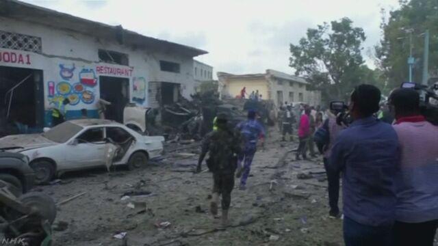 ソマリア 首都で2度の爆発 23人死亡 さらに増えるおそれ | NHKニュース