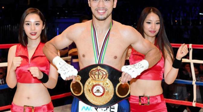 ボクシング 村田が再戦でTKO勝ち 世界王座に
