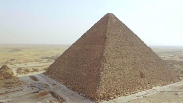 ピラミッドに謎の巨大空間 見つかる
