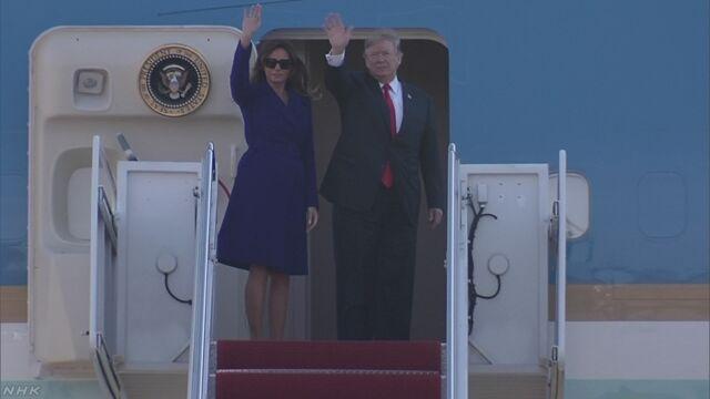 トランプ大統領 日本などアジア歴訪へ ワシントン出発 | NHKニュース