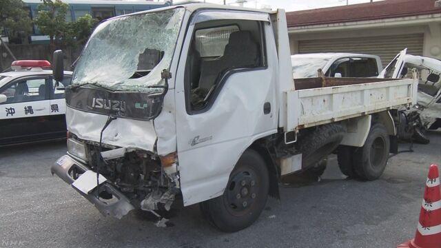 米軍トラックが死亡事故 海兵隊員からアルコール検出 | NHKニュース