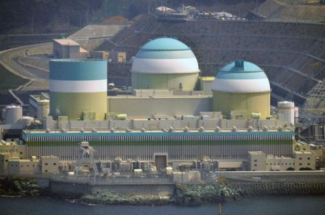 The Ikata nuclear plant in southwestern Japan.