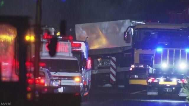 中国道 親子2人死亡事故 スペアタイヤ固定器具さびて破断か | NHKニュース