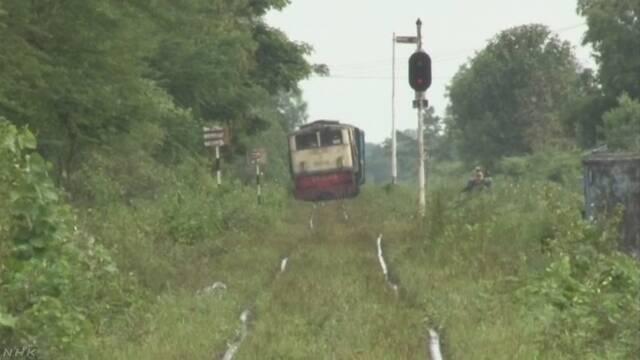 ミャンマーで日本企業が鉄道車両受注 | NHKニュース